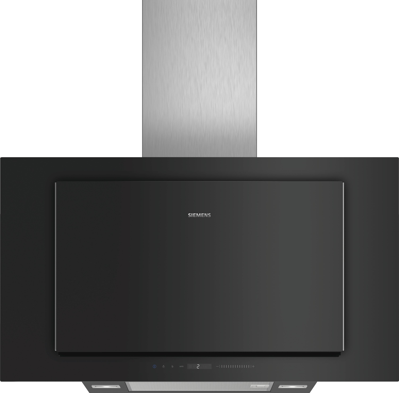 dunstabz ge lc97flv60 schwarz schwarz mit glasschirm wand esse 90 cm. Black Bedroom Furniture Sets. Home Design Ideas