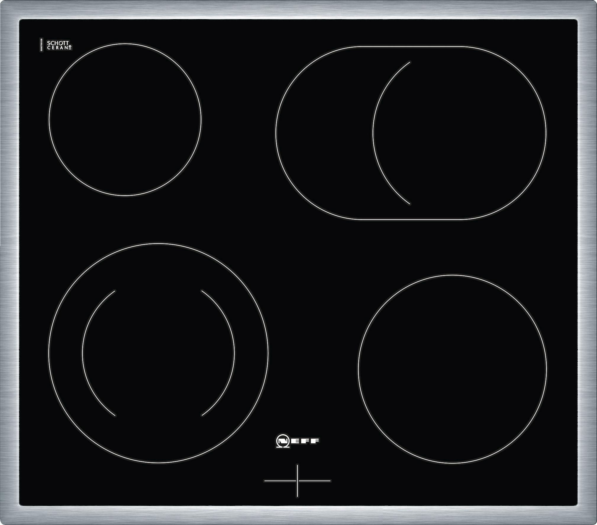 neff mr1342n elektro kochfeld m13r42n2 elektro glaskeramik. Black Bedroom Furniture Sets. Home Design Ideas