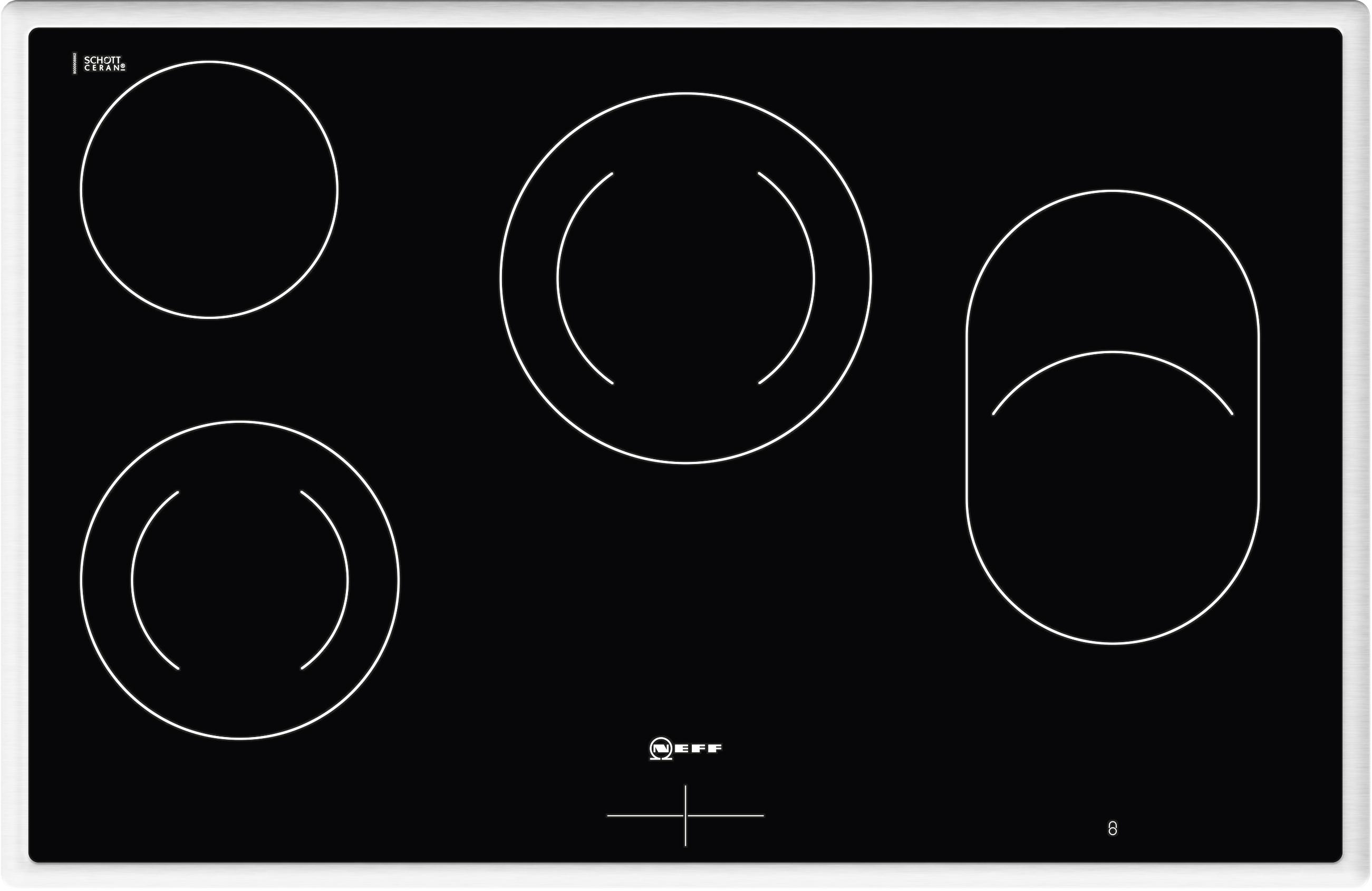 neff mr1383n elektro kochfeld m13r83n2 elektro glaskeramik kochfeld. Black Bedroom Furniture Sets. Home Design Ideas
