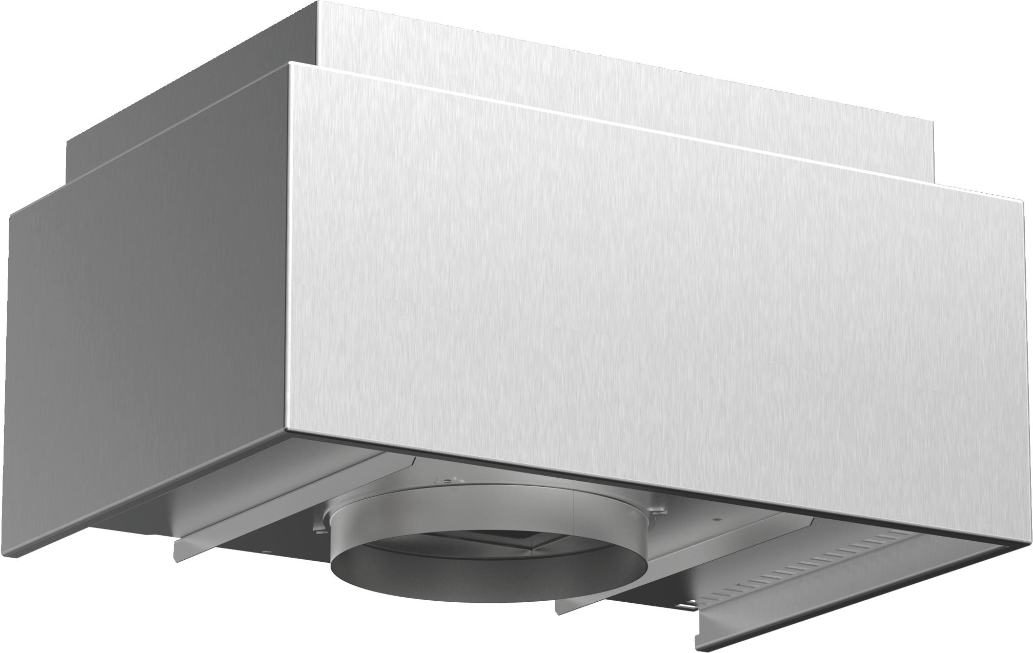 Sonderzubehör   Für Umluftbetrieb  Kombinierbar mit Wandessen  Deutlich verbesserte Geruchsbeseitigung gegenüber konventionellem Umluft-Filtersystem  Geräuschreduzierung  Verlängertes Wechselintervall der Filtereinheit  Zur Montage auf dem Außenkanal oder Innenkanal von Wandessen  Bestehend aus Designblende