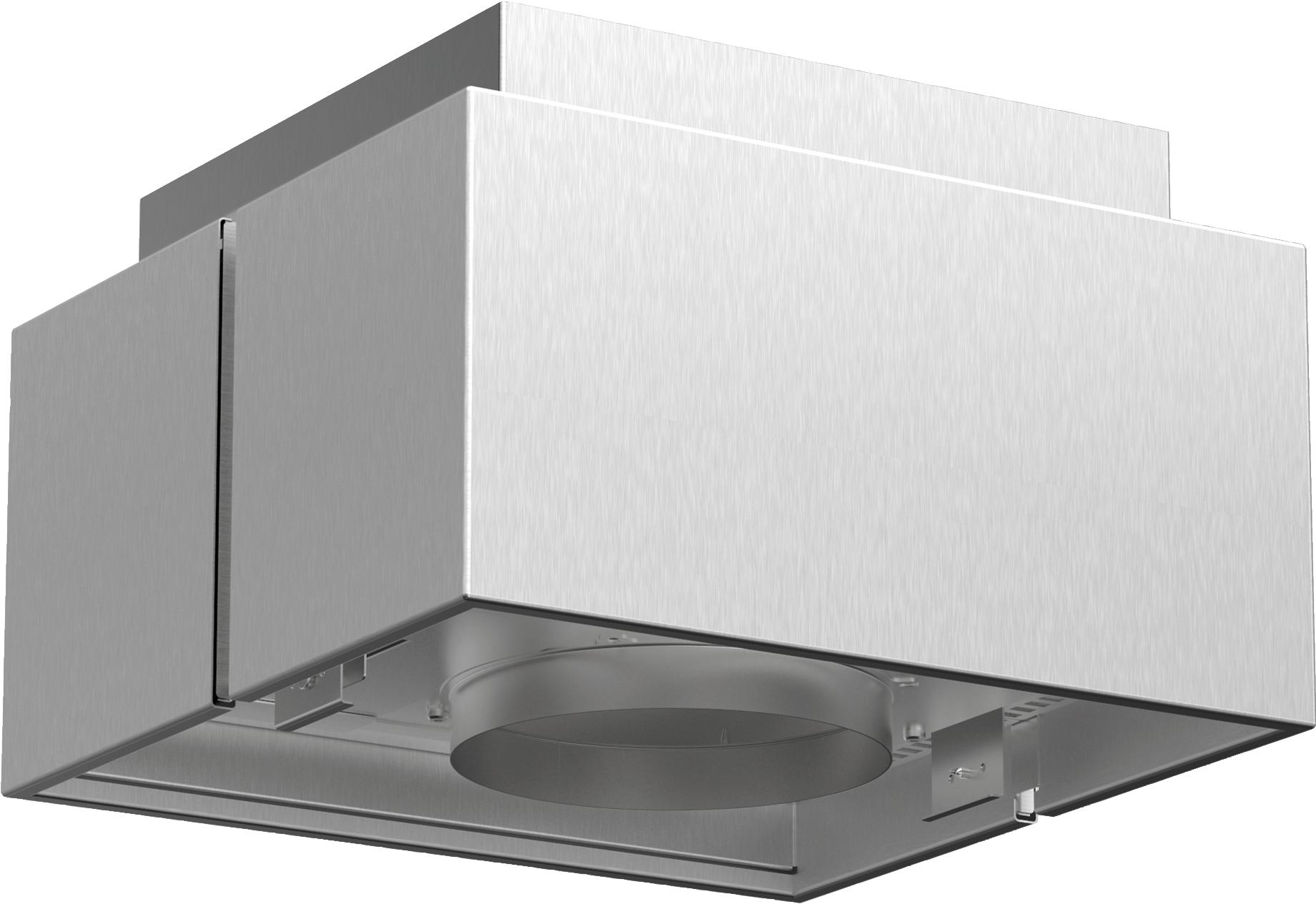Sonderzubehör   Für Umluftbetrieb  Kombinierbar mit Inselessen  Deutlich verbesserte Geruchsbeseitigung gegenüber konventionellem Umluft-Filtersystem  Geräuschreduzierung  Verlängertes Wechselintervall der Filtereinheit  Bestehend aus Designblende