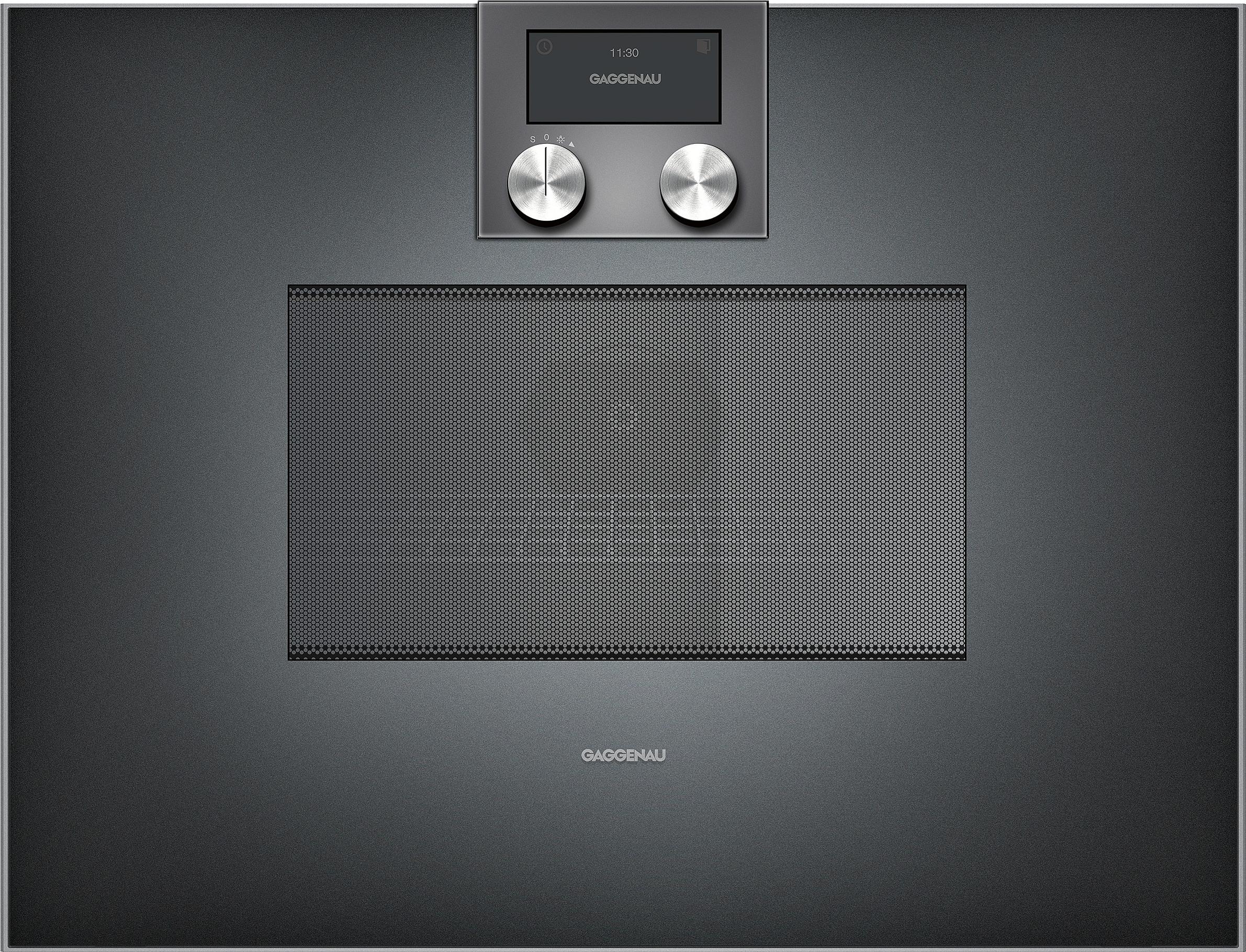 gaggenau bm450100 mikrowellen backofen serie 400. Black Bedroom Furniture Sets. Home Design Ideas