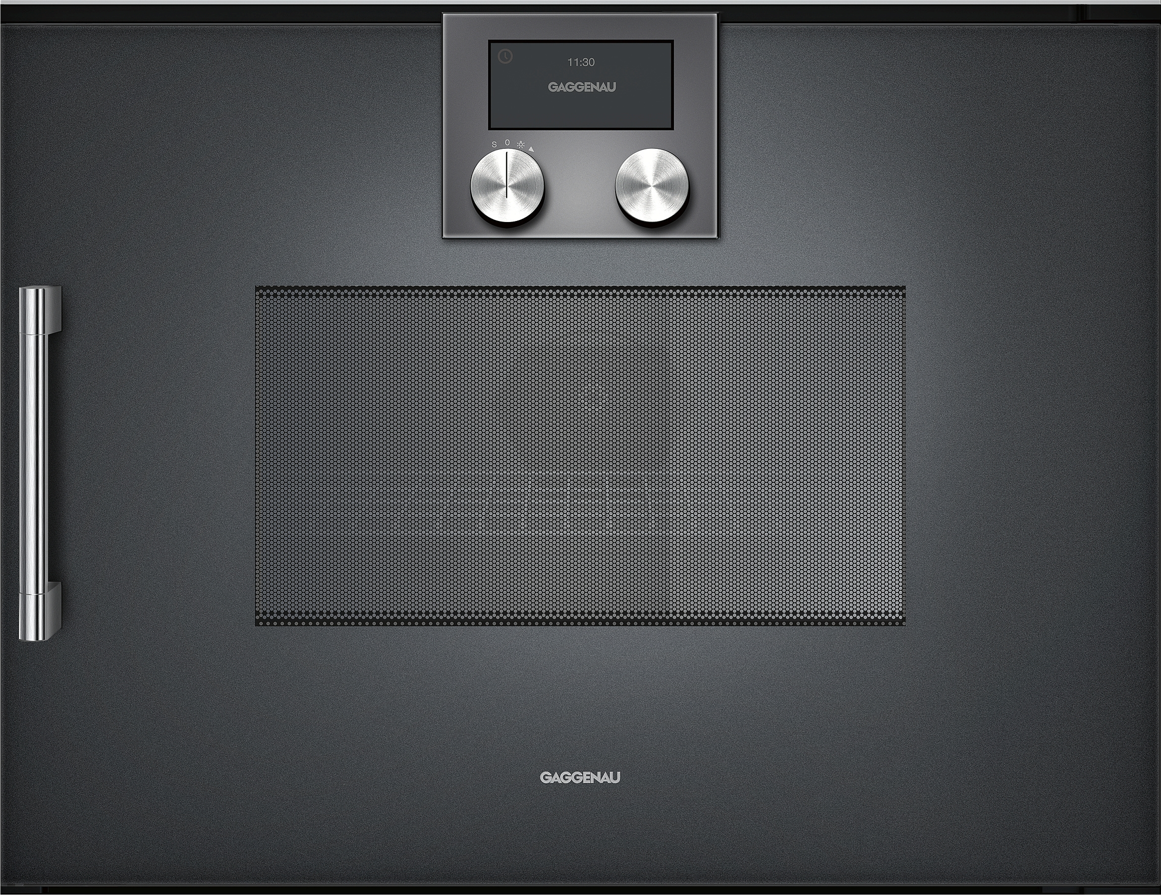 gaggenau bmp250100 mikrowellen backofen serie 200 vollglast r in gaggenau anthrazit breite 60 cm. Black Bedroom Furniture Sets. Home Design Ideas