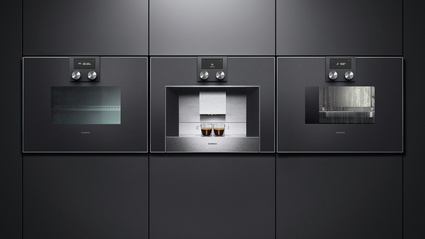gaggenau bm451100 mikrowellen backofen serie 400 vollglast r in gaggenau anthrazit breite 60 cm. Black Bedroom Furniture Sets. Home Design Ideas