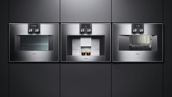 gaggenau bm451110 mikrowellen backofen serie 400 edelstahl. Black Bedroom Furniture Sets. Home Design Ideas