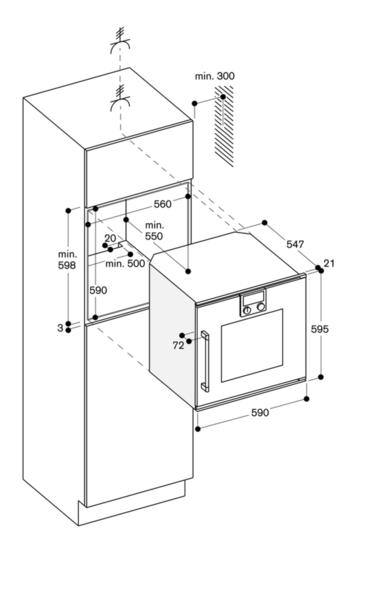 gaggenau bop221111 backofen serie 200 vollglast r in gaggenau metallic breite 60 cm. Black Bedroom Furniture Sets. Home Design Ideas