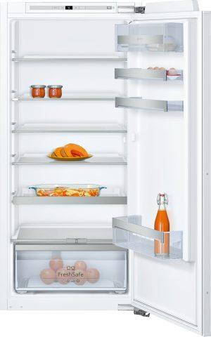 Ausstattung:   Flachscharnier  EmotionLight - sanft aufdimmende LED-Innenbeleuchtung   Kühlteil   Kühlraum: 211 l Nutzinhalt  6 Abstellflächen aus Sicherheitsglas (5 höhenverstellbar)