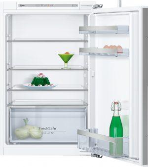 Ausstattung:   Flachscharnier  LED Beleuchtung   Kühlteil   Kühlraum: 144 l Nutzinhalt  4 Abstellflächen aus Sicherheitsglas