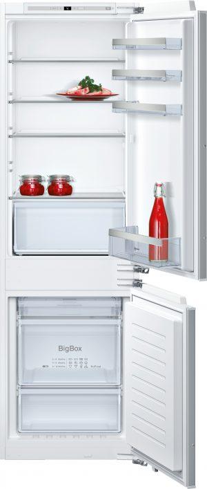Ausstattung:   Flachscharnier  LED Beleuchtung   Kühlteil   Kühlraum: 188 l Nutzinhalt  4 Abstellflächen aus Sicherheitsglas